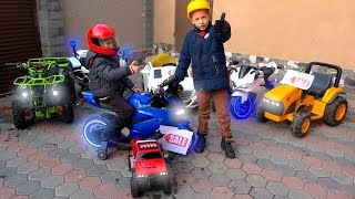 Funny Kids Pretend Play Sale Toy Cars and Ride on Power Wheels Childrens Baby Car
