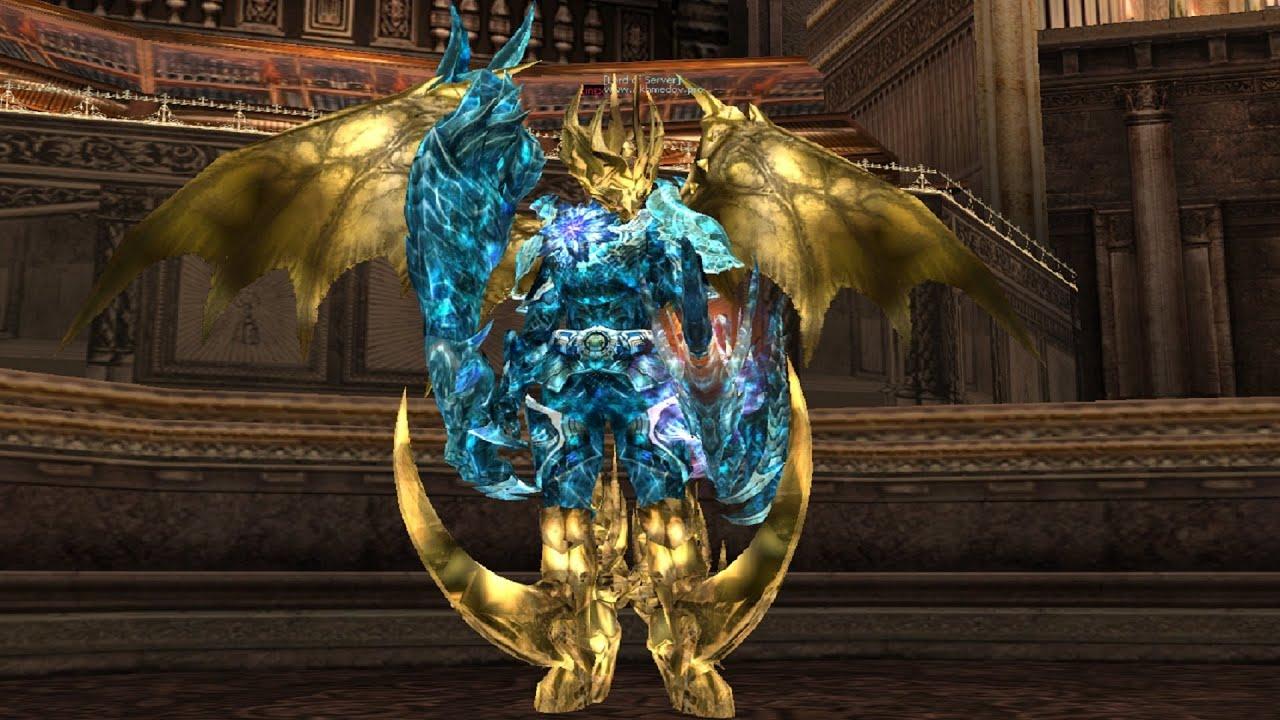 Уникальный kamael крылья для вашего сервера interlude,крылья были переделаны в красный тона с эффектом молнии