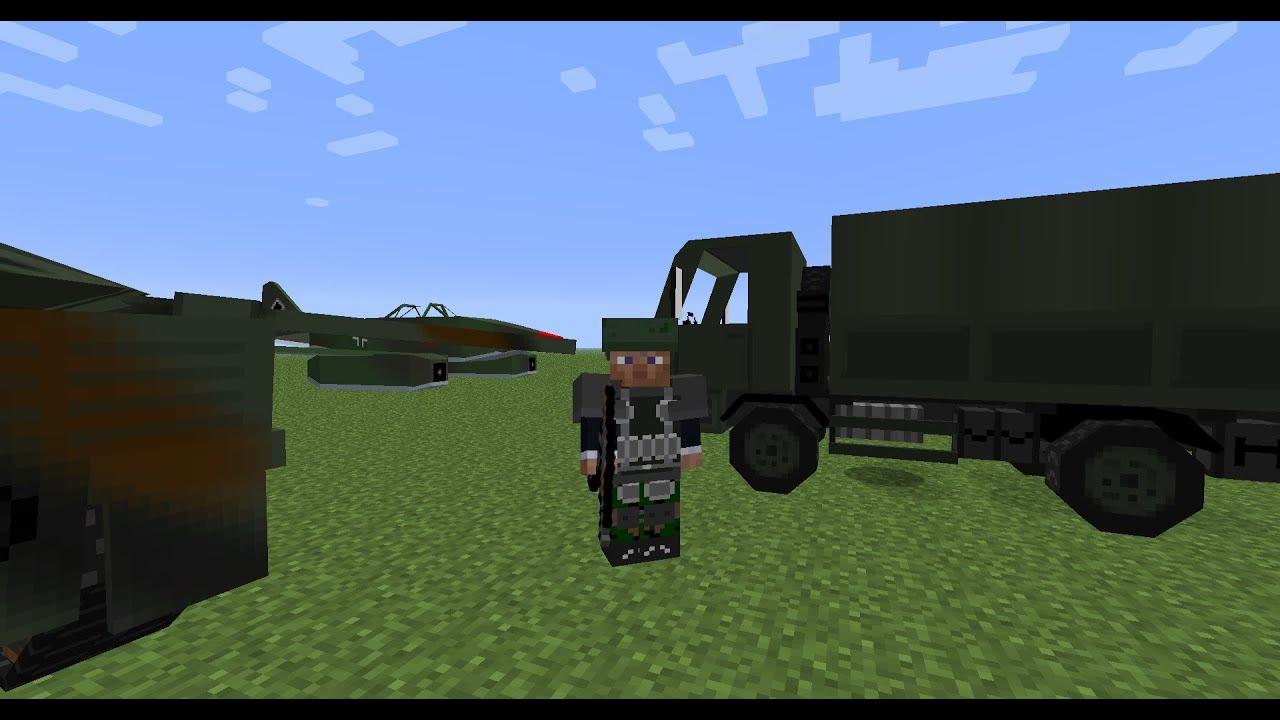 Первый Beta тест военного сервера Minecraft!