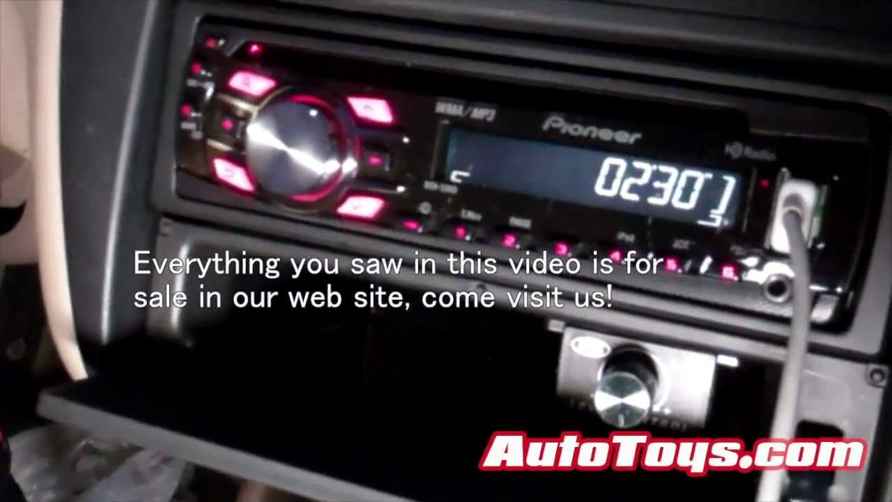Pioneer Ipod Radio Honda Accord Pioneer hd Ipod