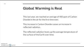 Global Warming Argument Essay Ed 656 Bhadha