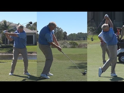 COLIN MONTGOMERIE 2015 SWING FOOTAGE REG & SLOW MOTION - ACE GROUP TWIN EAGLES GOLF COURSE 1080p HD