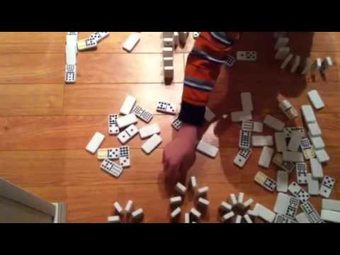 Nate s Alphabet Domino Run