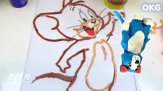 Tom And Jerry Fun Kids Creative Play Doh Video