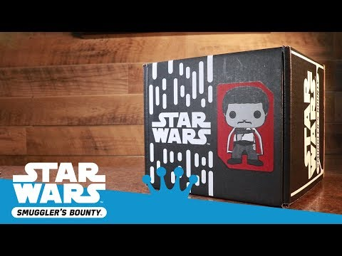 Star Wars Smuggler's Bounty Solo Unboxing!