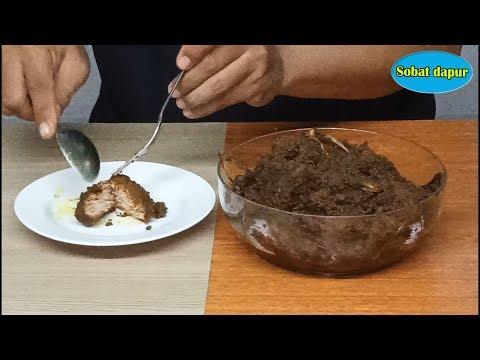 Cara buat rendang padang asli enak dan tahan lama