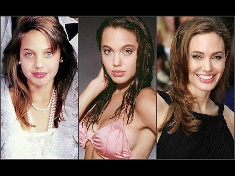 Анджелина Джоли в детстве,в юности,в молодости и сейчас