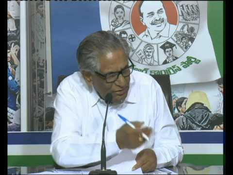 Ummareddy press meet on Agri Loans issue at Hyd.Central Office