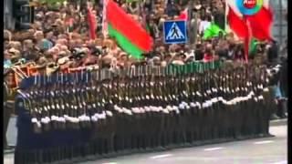 Bieu dien tai nang - Màn đồng diễn ấn tượng của các binh sĩ Belarus