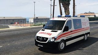 Turkish Ambulance - GTA V | +9800 MOVIES