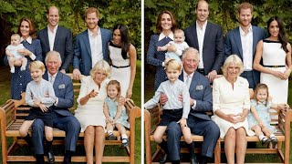 Royal Family Shares a Joke in Candid Photo for Prince Charles