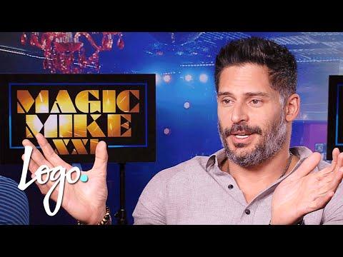 Magic Mike XXL   Joe Manganiello On Stripping For Sofia Vergara   Cast Interviews