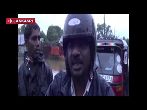 People affected by heavy rainfall in Jaffna