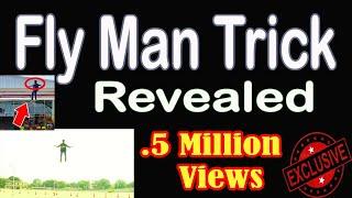 Fly man Trick Revealed!   பறக்கும் மனிதன்  ரகசியம் வெளிவந்தது   Vignesh prabhu magician  