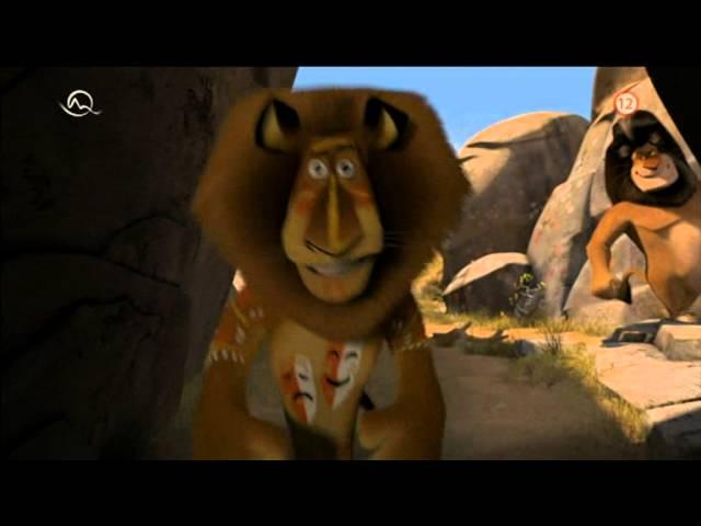 Madagaskar 2 Útek do Afriky