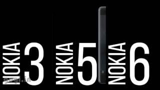 Nokia 3310, Nokia 3, Nokia 5 and Nokia 6