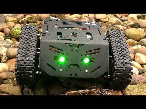 Raspberry Pi Devastator Robot #2 thumbnail