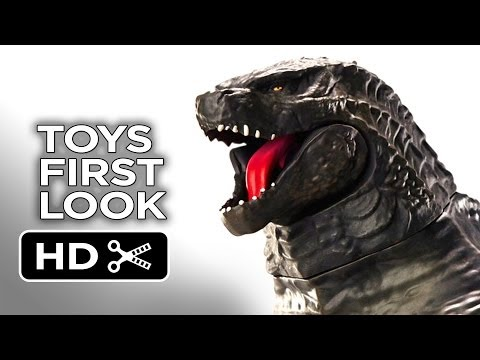 Godzilla - Toys First Look (2014) Monster Movie HD