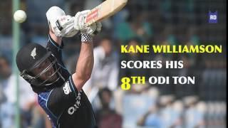 Kane Williamson Scores His 8th ODI Ton