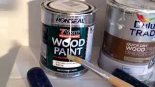 Wood knots  bleeding  Repair tips