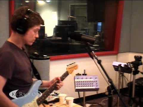 "Field Music performing ""Them That Do Nothing"" on KCRW"
