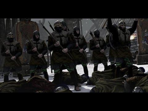 Хускарлы Конунга VS Черный Клинки Total War: Attila