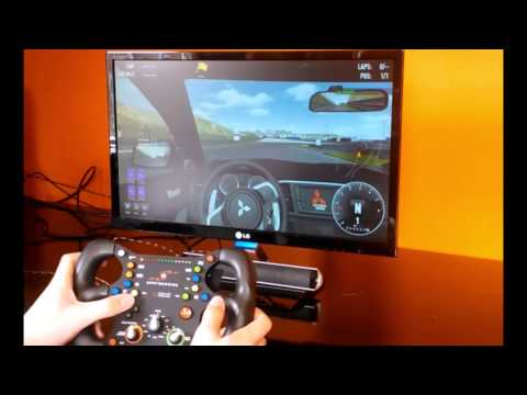 Simraceway Steelseries SRW-S1 Review Motion control racing wheel for pc