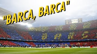 This is why Barcelona fans are Best fans in the World .. ! Barcelona vs Juventus