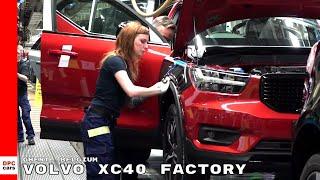 Volvo XC40 Factory in Ghent, Belgium