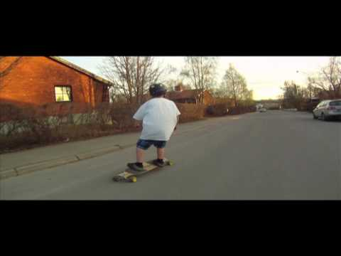 Longboarding: Sunset Smile