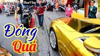 PHÚC XO Đem Xe Mô Tô Vàng Ra Chơi Nổi   Hữu Vlog   Dấu Chân Sài Gòn