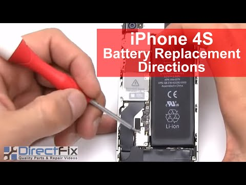 iPhone 4s Battery Replacement Repair in 2 Minutes