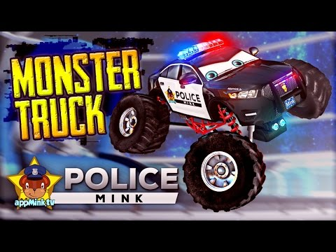 appMink Police Car Monster Truck Make Over - How to create a Big Foot Monster Truck Police Car