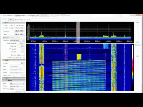 Shortwave Radio - US ROTHR 100Khz & 8Khz Sweeps