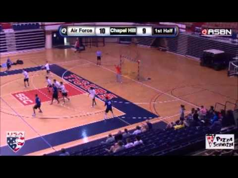 Carolina Team Handball Vs. Air Force - 2014 National Semi-Finals