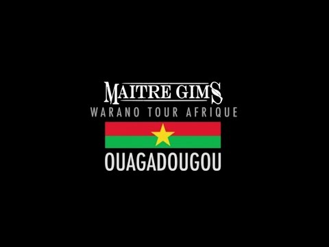 Maitre Gims - Concert à Ouagadougou #WaranoTourAfrique - Daymolition