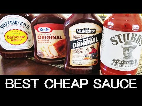 Best Cheap BBQ Sauce | Sweet Baby Ray's, Kraft, Stubb's, KC Masterpiece
