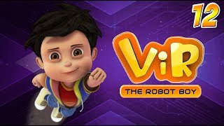 Vir: The Robot Boy | Hindi Cartoon Series For Kids | Volcano | Action Cartoons | Wow Kidz