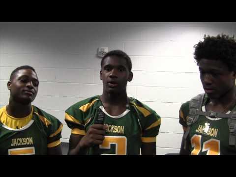 Miami Jackson football player interview - Media Day