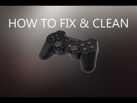 How to fix DS3(PS3 controller) buttons pressing themselves and clean it