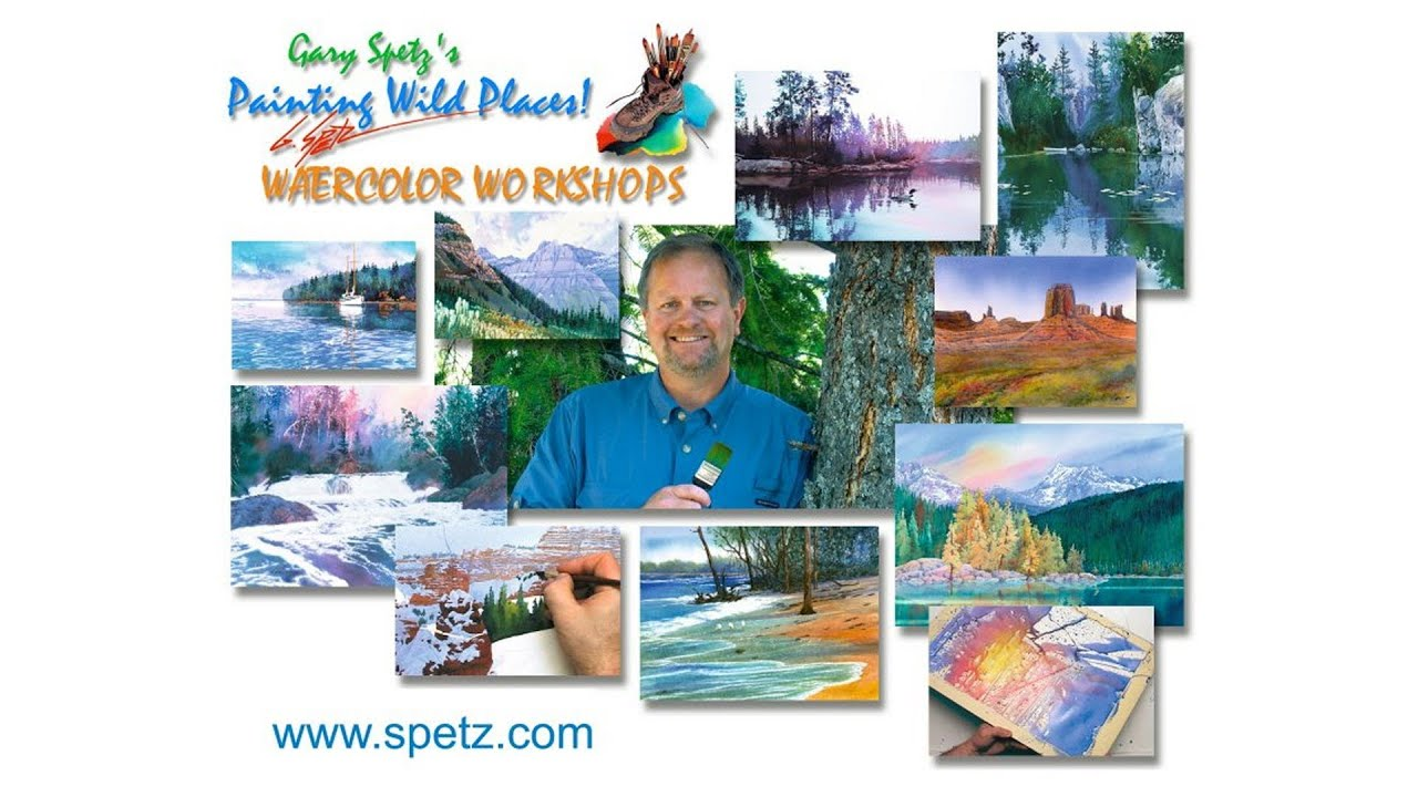 Gary spetz watercolor workshops youtube for Watercolor painting classes near me