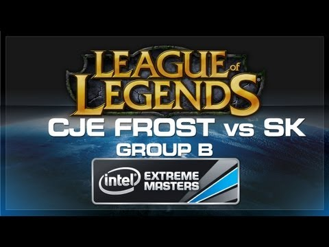 CJ Entus Frost vs SK Gaming - LoL (Group B) - IEM World Championship 2013