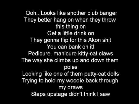 Akon ft Eminem - Smack that lyrics HQ