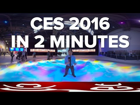 CES 2016 in two minutes