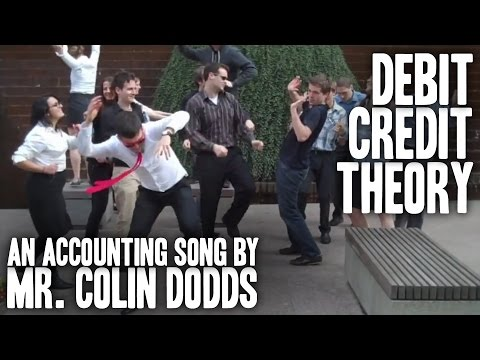 Colin Dodds - Debit Credit Theory (Accounting Rap Song) [HD]