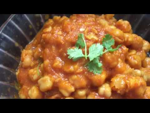 Chole masala curry (చోలే మసాలా కూర) || Pressure Cooker Chole | Easy Chana Masala