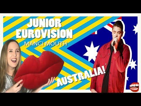 Junior Eurovision Reaction To Australia 2019 | Manci Mouth