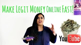 """""""How To Make Money Online From Home Fast""""  How To Make Money Online Fast"""