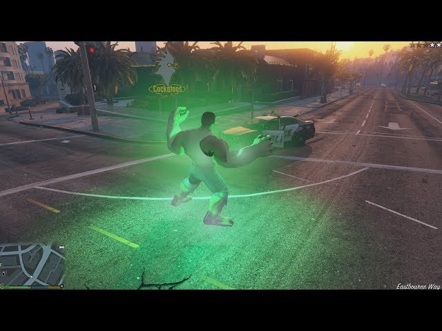 GTA V HULK v2 - New powers, animations, sounds, FX and more