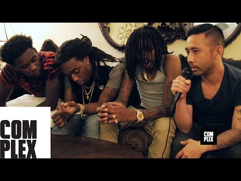 Rik Cordero Sits Down With Migos To Discuss Making the